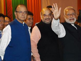 BJP top brass to meet today to chalk out winter session strategy
