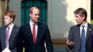 Prince William urges Vietnam to fight use of rhino horn, elephant ivory