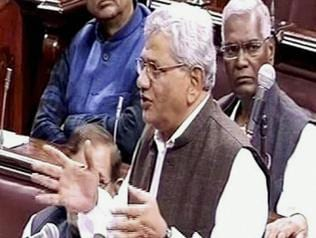 Yechury compares Modi to French Queen Marie Antoinette