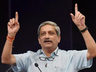 Won't be aggressive, but will neither take it lying down: Parrikar