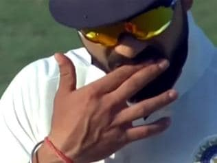 Virat Kohli in alleged ball-tampering row after Rajkot Test video went viral