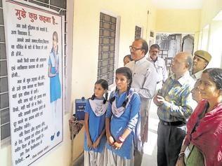 Karauli collector thinks out of box, schoolgirls say 'mann ki baat'