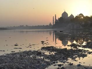 Yamuna carries politics, filth to UP after near-death in Delhi
