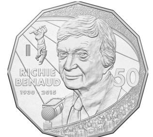Richie Benaud, Voice of Australia, to be face of 50 Cent coin