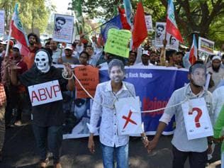 Mother of missing JNU student moves Delhi HC to trace her son