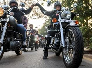 Bikerni: Delhi damsels take on the two wheels for a noble cause