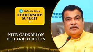 'Want to see electric trucks on highways': Gadkari on govt 's EV plan #...