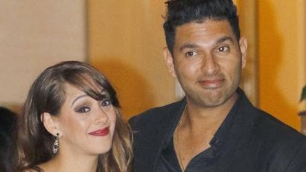 I'm glad Hazel has come in Yuvraj's life, says mother
