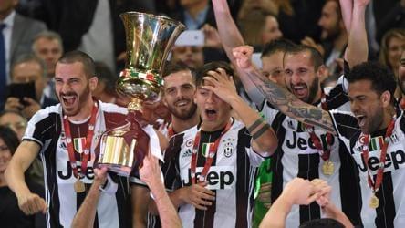 Juventus Beat Lazio To Win Coppa Italia Keep Treble Dream Alive Football Hindustan Times