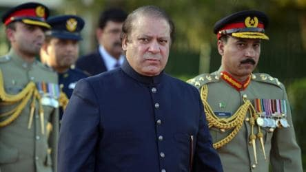 There is strong evidence to indicate that the sheer depth of Nawaz Sharif's electoral support had alarmed the Pakistani military and many of the protests and demonstrations against him have been fomented by Rawalpindi to remind him of who holds true power in Pakistan