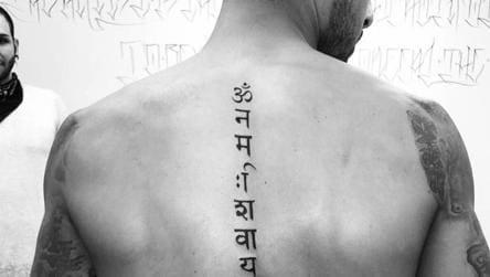 Arsenal Star Theo Walcott S Tattoo On Hindu God Faces Flak For Spelling Gaffe Football Hindustan Times