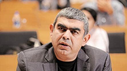 Vishal Sikka, former Infosys MD, CEO