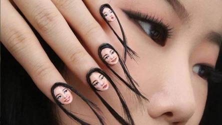 This Nail Art Trend Is Inspired By The Selfie And It Even Has A Hairy Side To It Fashion And Trends Hindustan Times
