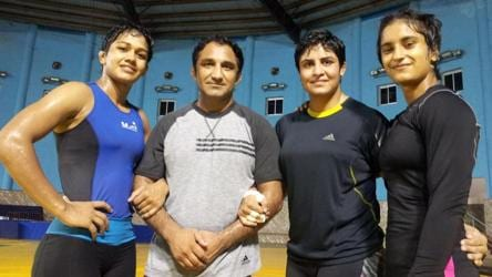 Wrestling Federation of India suspends coach Kripa Shankar