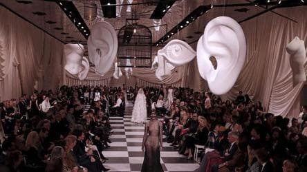 Paris Haute Couture Show Dior Turns Surrealist With A Tribute To Friend And Artist Leonor Fini Fashion And Trends Hindustan Times