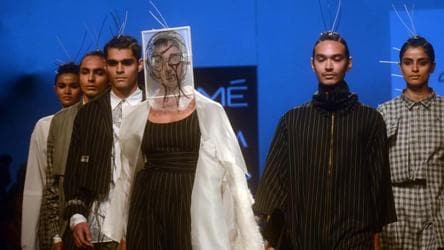 From Kimono Esque Dresses To Pant Suits Gen Next Designers Shine At Lakme Fashion Week Fashion And Trends Hindustan Times