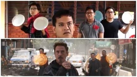 These Kids Made A Low Budget Avengers Infinity War Trailer And