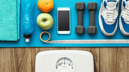 eat well but losing weight