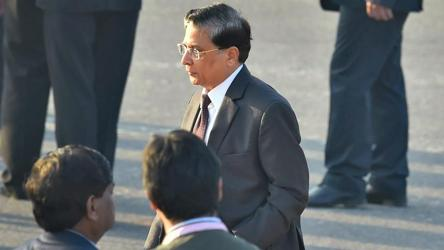 """Congress also attacked the BJP for coming out in """"defence"""" of the CJI and said the ruling party was compromising the position and office of the chief justice as the neutral arbitrator and head of the judiciary."""
