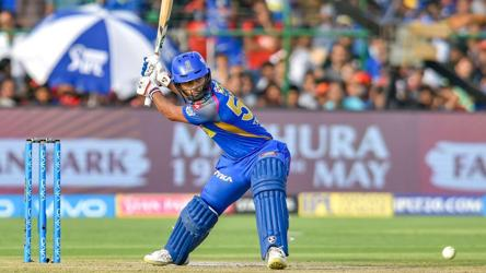 Rahul Tripathi Scores First Ipl 2018 Fifty For Rajasthan Royals Vs Rcb Cricket Hindustan Times