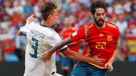 Fifa World Cup 2018 Round Of 16 Highlights Russia Beat Spain 4 3