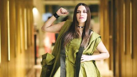 Neha Dhupia S Bold Dress Is Easy To Style Yet Makes Such A Statement Get Her Look Fashion And Trends Hindustan Times