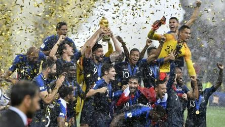 World Cup Final France Vs Croatia Highlights France Beat Croatia 4 2 Clinch Title Football Hindustan Times