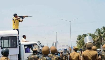 Anti Sterlite Protesters Killed By Shots To Head Chest Half From