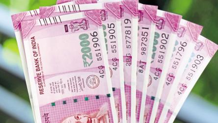 Printing Of Rs 2 000 Note Stops