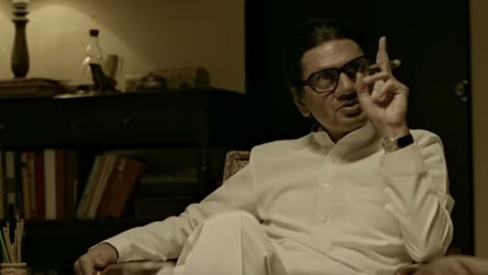 Thackeray Movie Review Nawazuddin Siddiqui S Film Is Not A Whitewash It S A Confession 1 Star Bollywood Hindustan Times