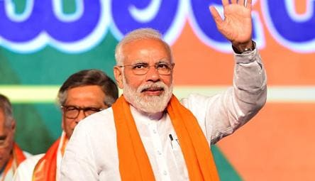 Image result for pics of modi electioneering