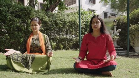 A Film On Meditation And Yoga Shot In The City Delhi News Hindustan Times