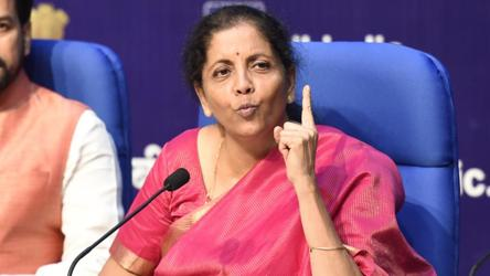 Image result for finance minister nirmala sitharaman