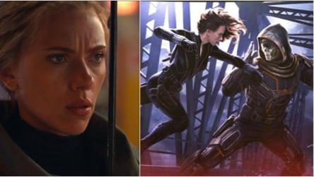Black Widow S First Concept Art Shows Scarlett Johansson Fighting Villain Taskmaster See Pic Hollywood Hindustan Times