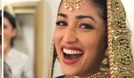 Yami Gautam Dons Bridal Avatar For Ginny Weds Sunny See Pic Bollywood Hindustan Times