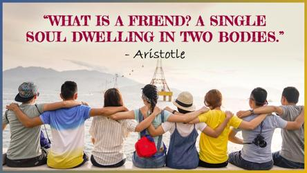Friendship Day 2019 Quotes To Send To Your Friend On This Special Day It S Viral Hindustan Times