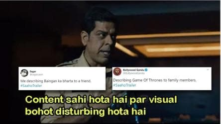 Prabhas' Saaho trailer inspires Twitter to make fresh memes