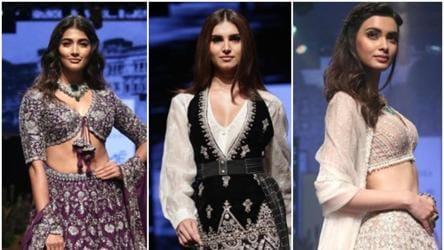 Lakme Fashion Week Winter Festive 2019 Tara Sutaria Diana Penty Pooja Hegde Walk Ramp At Lfw 2019 On Day 4 Fashion And Trends Hindustan Times