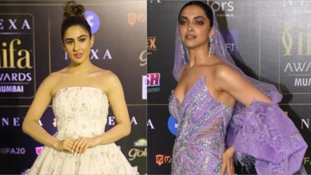 Iifa 2019 Sara Ali Khan Deepika Padukone Katrina Kaif Alia Bhatt Stun At Bollywood S Starry Night Pics Inside Fashion And Trends Hindustan Times