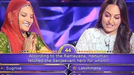 Trolls target Sonakshi after her wrong guess on Ramayana