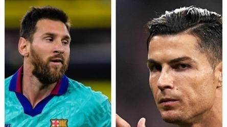 Ronaldo or Messi? UsainBolt picks his favourite footballer