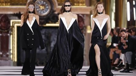 Paris Fashion Week 2020 Balmain Channels 90s Issey Miyake Debuts New Designer Fashion And Trends Hindustan Times