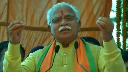 'Not new for him,' Congress pans Khattar for remarks on Sonia Gandhi
