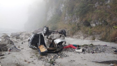 One-yr-old among 5 dead after car plunges into gorge near Mussoorie