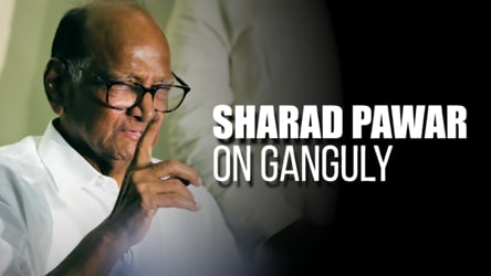 'Ganguly has good cricketing & administrative experience': Sharad Pawar