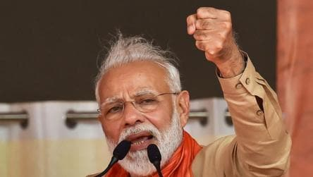 At PM Modi's Maharashtra rally, a double-barrelled attack on Congress, NCP