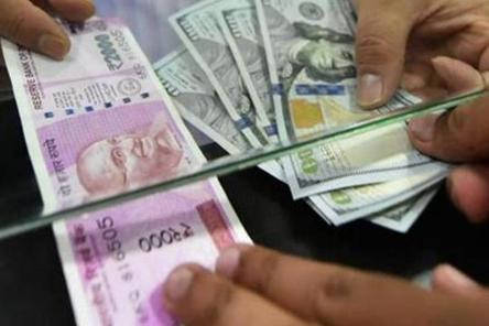 Ru Plunges 45 Paise To 74 20 Against