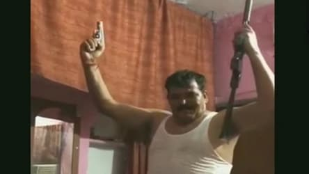 Man caught dancing with two guns in Haridwar, video goes viral