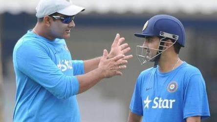 In extending birthday wish to Anil Kumble, Gambhir pays greatest tribute