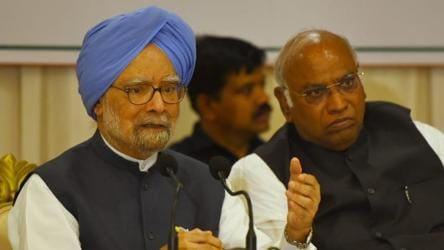 On Sitharaman's barb, Manmohan Singh says 'no comment'. Then a dart